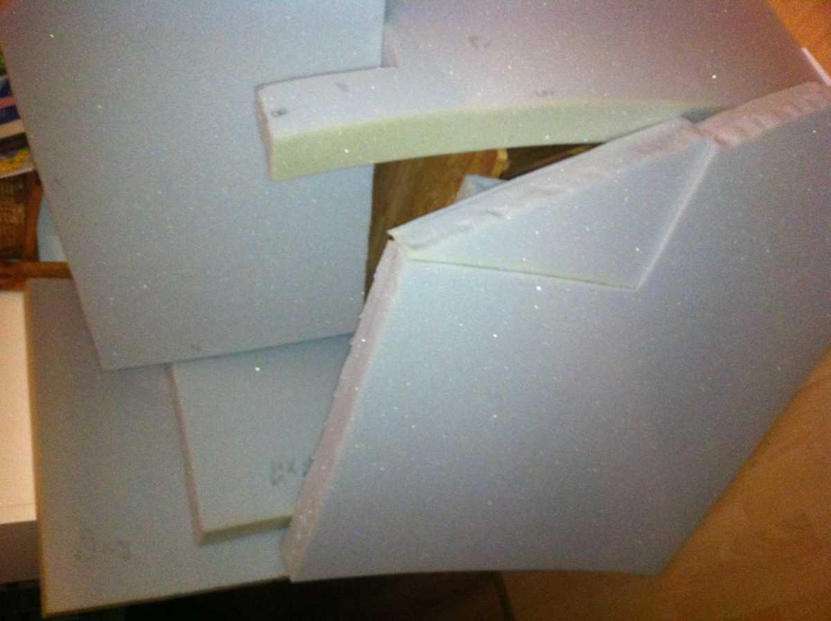 Palettensofa selberbauen, Teil 3 - Polstern und Endmontage ...