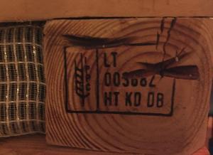 HT-KD-Kennzeichnung, Palette aus LT -  Litauen