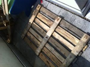 Paletten-Schubladenschrank Rohmaterial: eine Einweg-Palette