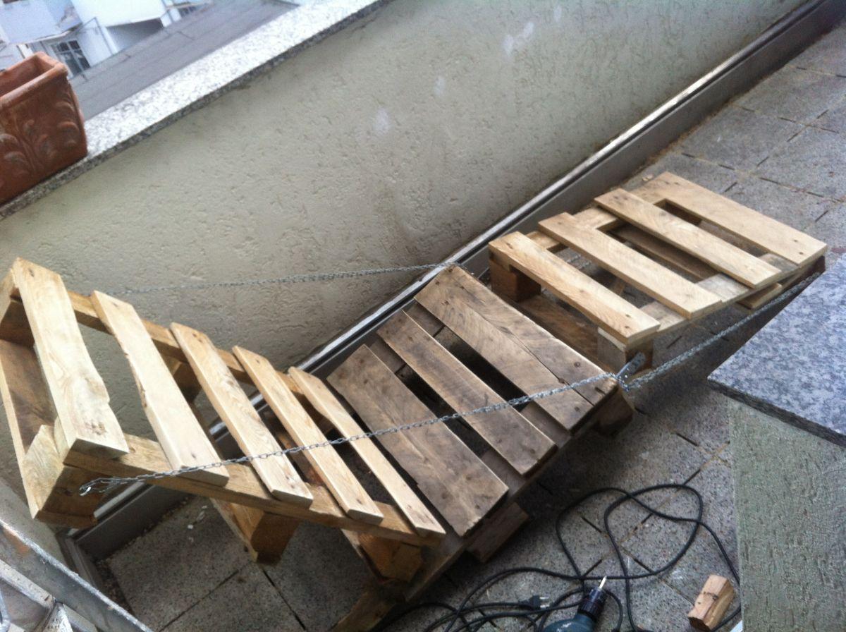 Gartenliege Aus Paletten gartenmöbel selber bauen lehnstuhl gartenliege aus paletten 1