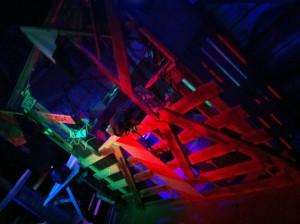 Paletten-Hütte: Warehouse im Gran Paradiso