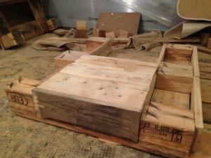 Schublade, Montage in der Schubladenführung