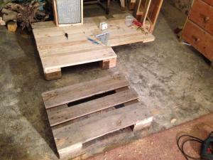 Steampunk-Schreibtisch: Fußteil
