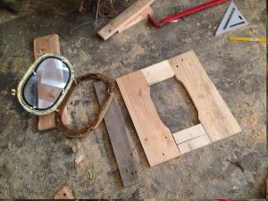Bullauge 1: Rahmen bauen