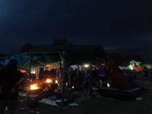 cccamp15, Zeltimpression