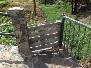 Gartentor aus Europalette, Gomera
