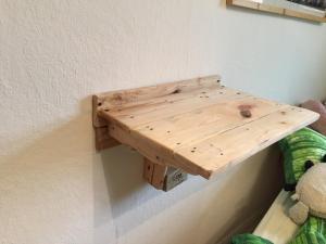 Katzenhochbett, montiert, von oben