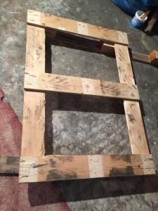 Rohling für zwei kleine Tischplatten