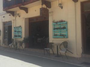 Paletten-Blumenregal, Kreta