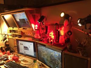 Overhead-Monitore, der erste Testlauf