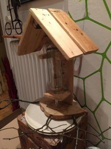 Vogelfutterstation, Prototyp